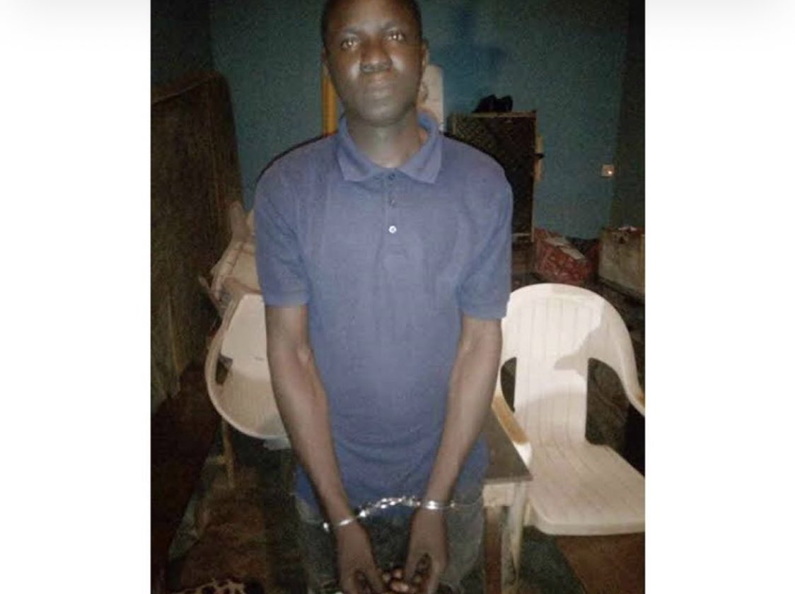 JUST IN: 24 year old boy arrested for raping a 70 old woman in Ogun State. <br>http://pic.twitter.com/5fMFYckmxU