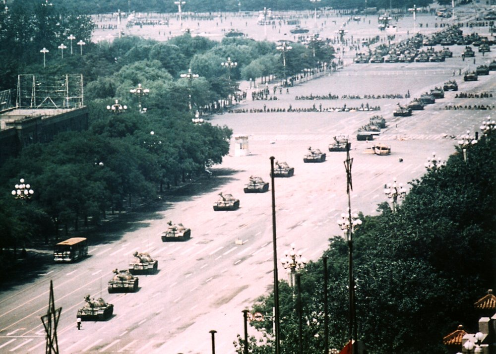 Today it was 31 years ago that the Chinese Communist Party crushed its own citizens. China has become a lot richer since then, but unfortunately the Chinese people did not get more democratic rights. #TiananmenMassacre