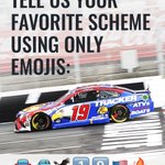 Image for the Tweet beginning: Tell us your favorite scheme