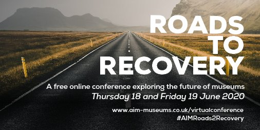 Free to attend so if you haven't been to the @Aimuseums conference before this is a must. If you have, then you'll know that already. Ever practical, super supportive and all the information you need to strap in and crack on! https://t.co/5duVdy9syC