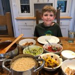 In keeping with their learning about Mexican food this week, Hugo in Year 2 enjoyed this wonderful spread of Chilli con Carne, guacamole, salsa, sour cream and cheese with his family. #homelearning #remotelearning #virtuallearning #longacreschool #LongacreLife #prepschool