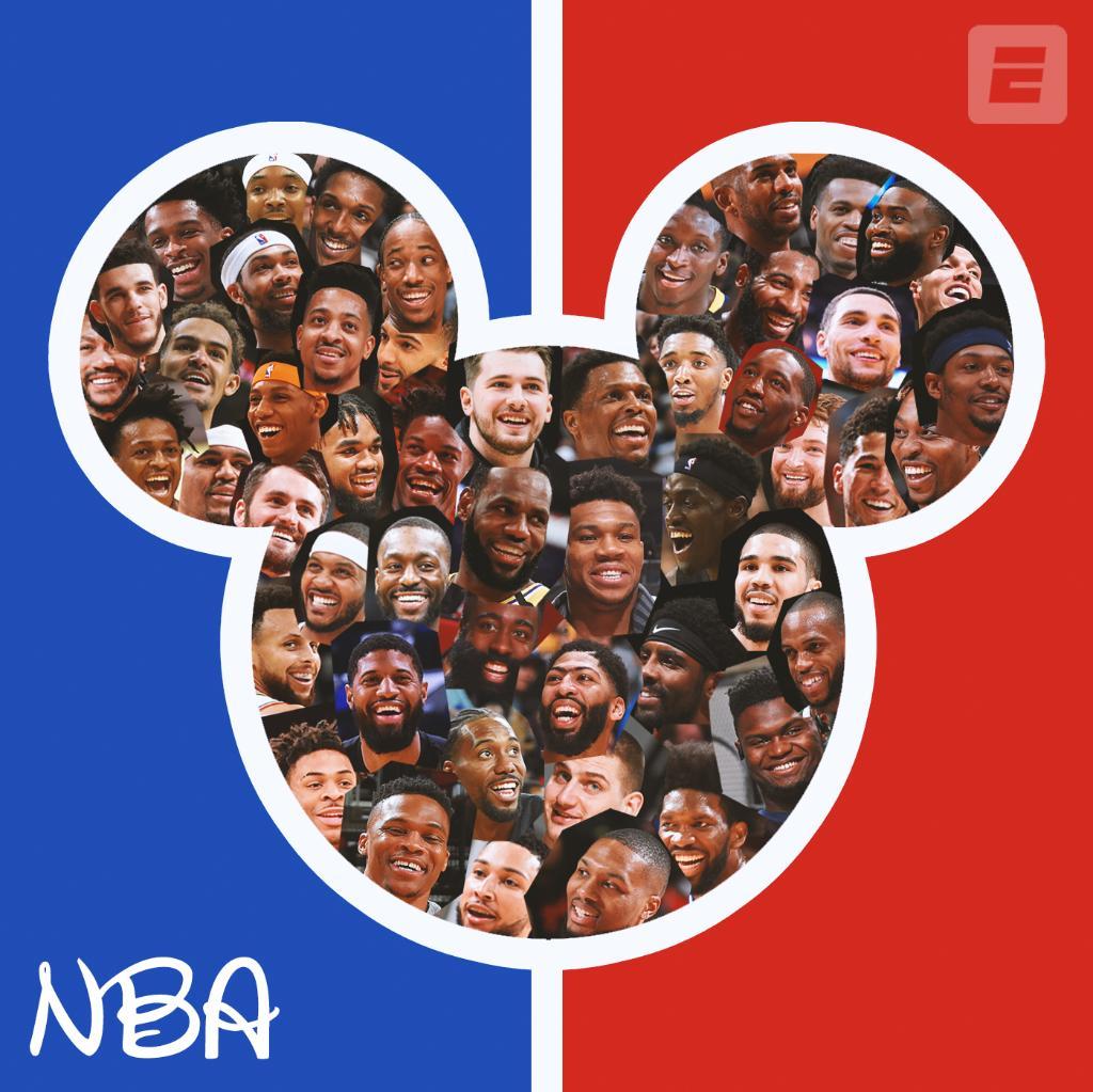 NBA en Disney