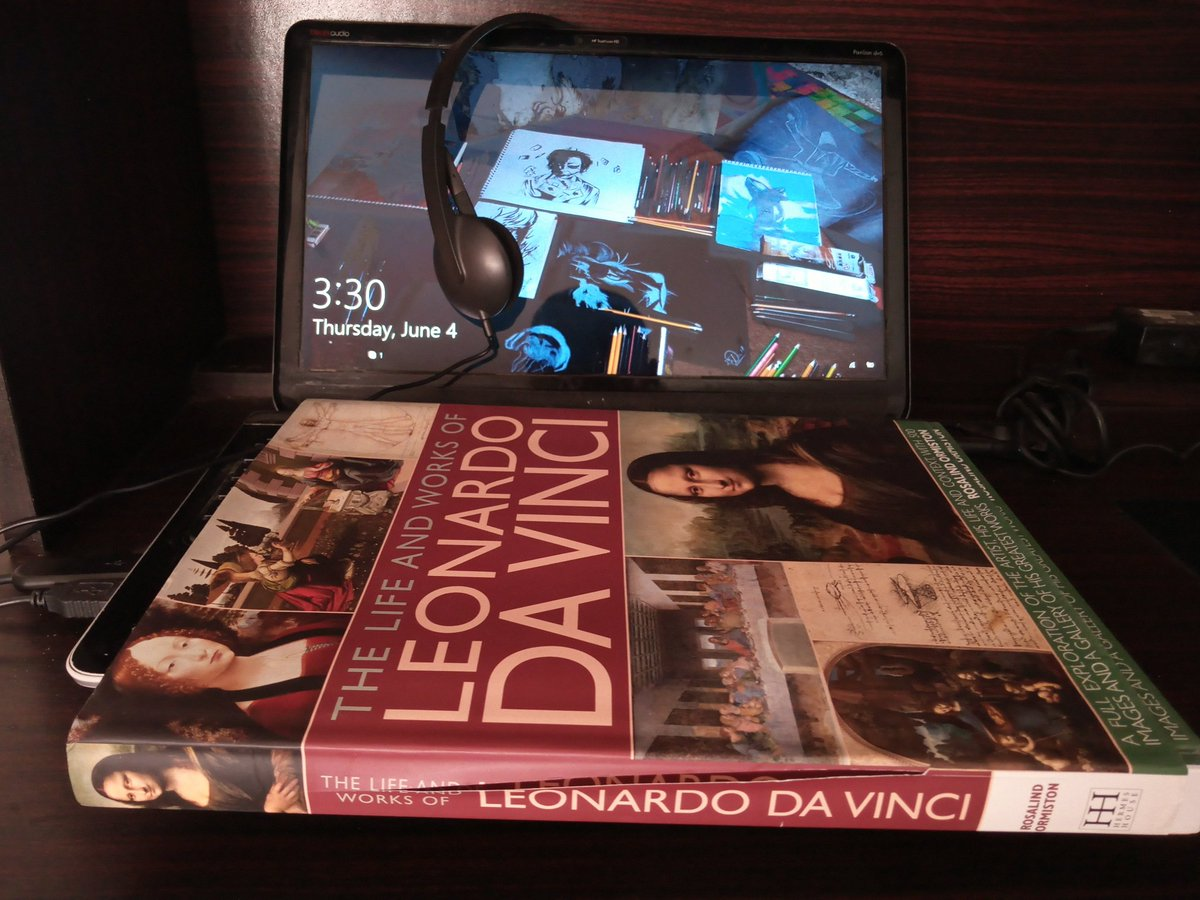 Now is the time to masterpiece recap   Newly started: The Life & works of Leonardo Da Vinci . . #SyedReads #leonardodavinci <br>http://pic.twitter.com/j46RXjlbdB