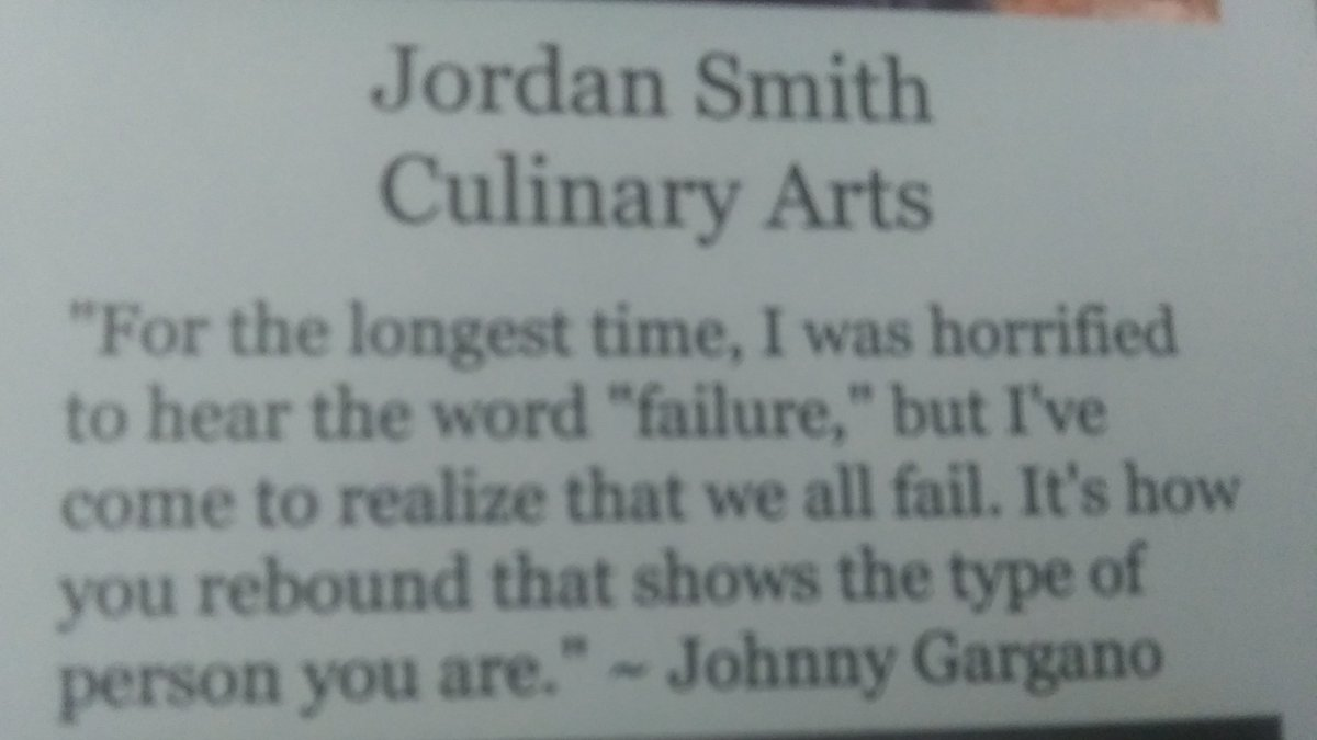 @JohnnyGargano I never booed you.I actually true story used one of your quotes for my senior Quote for high school