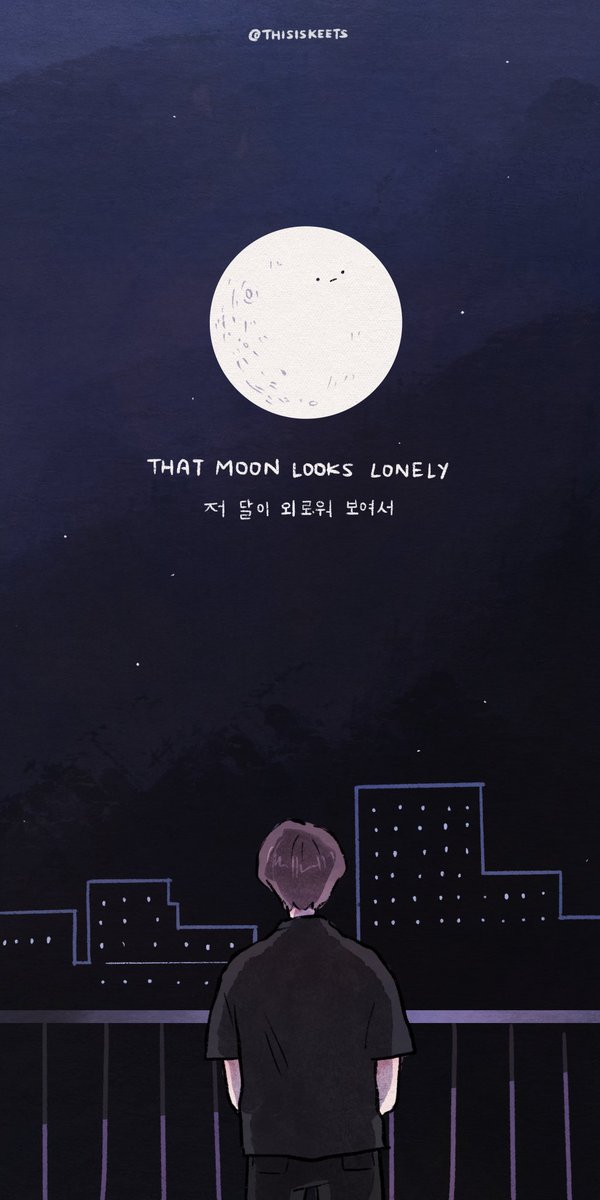 lonely, lonely moon 🌙  #StillWithYou #jungkook #BTS https://t.co/6JCbqYAotX