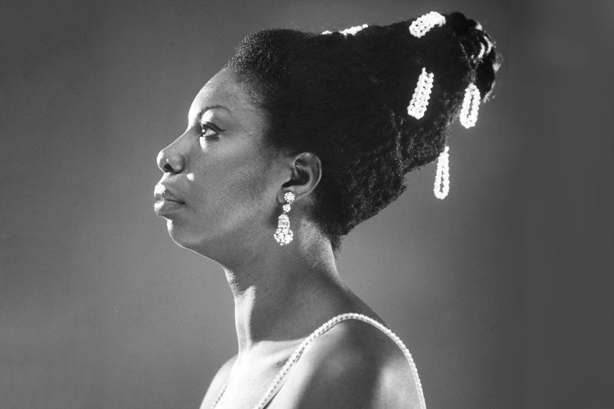"""I'll tell you what Freedom is to me. No fear."" - Nina Simone (image, M. Ochs)"