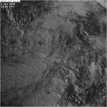 Se pronostican lluvias fuertes en regiones del Sur al Centro del país, Sur Occidente, Occidente y parte del Nor-Oeste de Petén, por la circulación de la Tormenta Tropical Cristobal Via:@ConredGuatemala