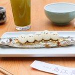 居酒屋「島江長」開店だよ〜!いろんなお皿にシマエナガが乗っていて可愛い!