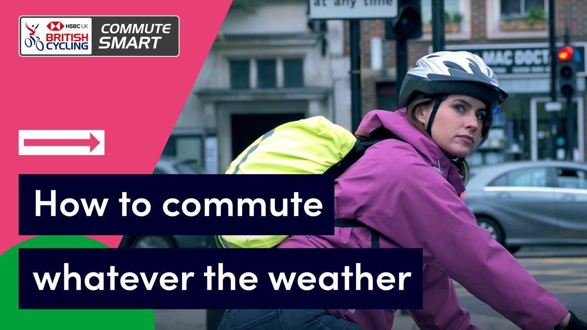 Just because we've said goodbye to the sun doesn't mean we need to leave the bike at home!  If you've been inspired to #GetPedalling during lockdown but don't know how to keep going when the weather changes, we're here to help 👍  Watch 🎥 https://t.co/h1nYkB2OwY  #ChooseCycling https://t.co/SVGgZ9rwoZ