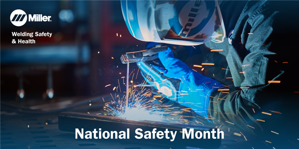 June is National Safety Month. Miller® PPE is designed and built to protect the welder behind the hood and the environment in which you perform your job. #MillerWelders #nationalsafetymonth https://t.co/G7nwSh8Xwn