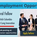 Image for the Tweet beginning: New employment opportunity! @UBC Centre