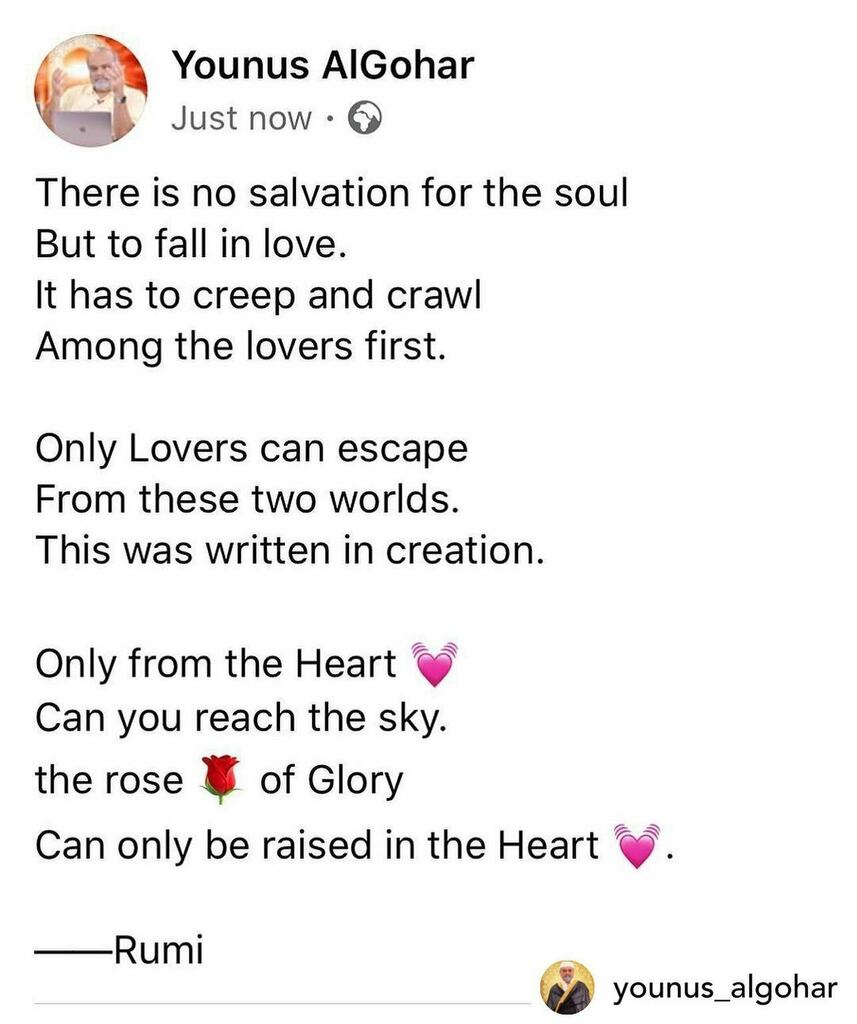 Posted @withregram • @younus_algohar #sufism #rumi https://t.co/Z4T1s9SYQg https://t.co/l87Qxx7GwQ