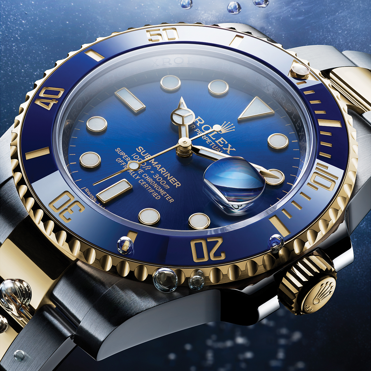 A reference among divers' watches, the Submariner Date has a rotatable bezel with a 60-minute graduated Cerachrom insert in ceramic to monitor dives time. The bracelet's length can be adjusted easily thanks to the Rolex Glidelock system. More https://t.co/AvQii0qSZO #Perpetual https://t.co/yojkwKFAE9