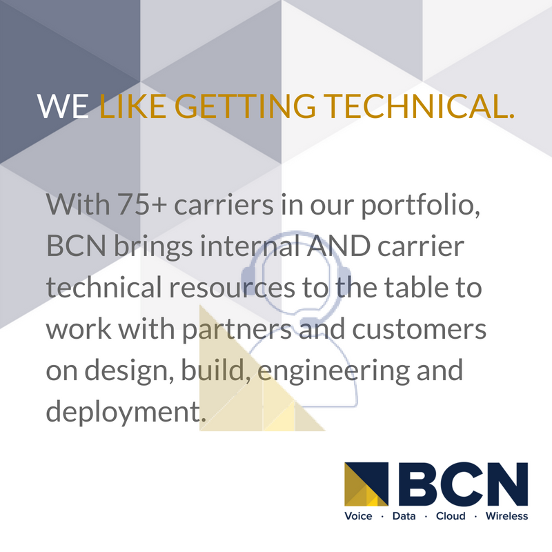 With 75+ carriers in our portfolio, we bring internal AND carrier technical resources to the table! #bcn #technicalresources #techsolutionspic.twitter.com/OF2ZAcXCda