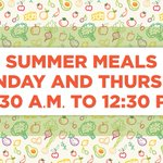 Image for the Tweet beginning: Student meals will continue to