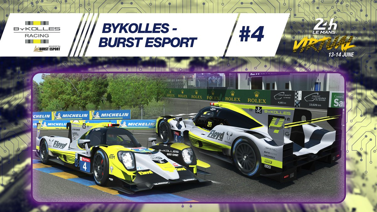 ◼️🟡Now it's the turn of @ByKOLLES  to unveil the livery on its #LeMans24Virtual entry!   #LeMans24 #WEC #RaceAtHome https://t.co/mb1oDUi0aH