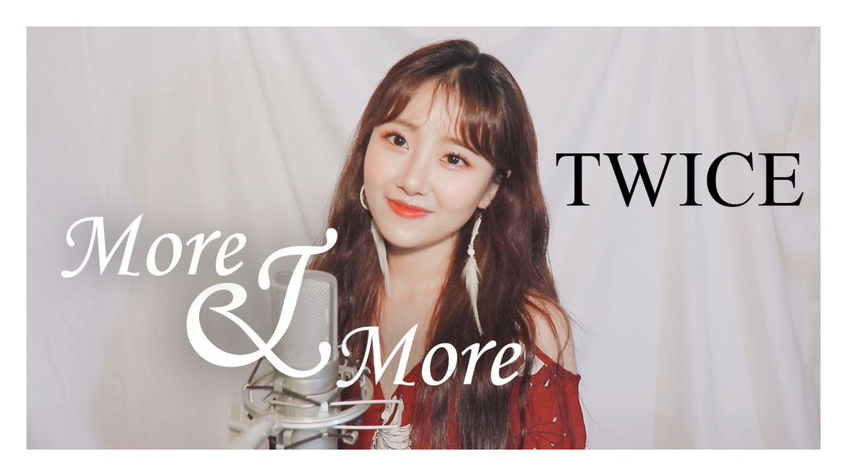 """Hi, I'm Luya  I covered """"MORE & MORE"""" of #TWICE ! If you like this cover, dont forget subscribe and thumbs up  video https://youtu.be/32f75KigOo8  @JYPETWICE #트와이스 #kpopcover #TWICE_MOREandMORE #twicecoverpic.twitter.com/9ThECuJ9mt"""
