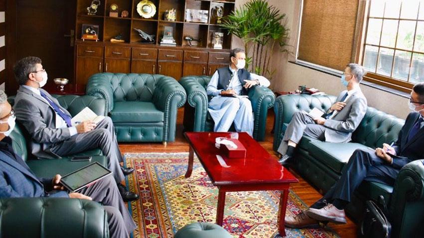 Chinese ambassador reaffirms full confidence on government on progress & pace of CPEC: @AsimSBajwa  @CPEC_gov_pk @CathayPak @zlj517 🇵🇰🇨🇳 https://t.co/RaQY5vTZMV