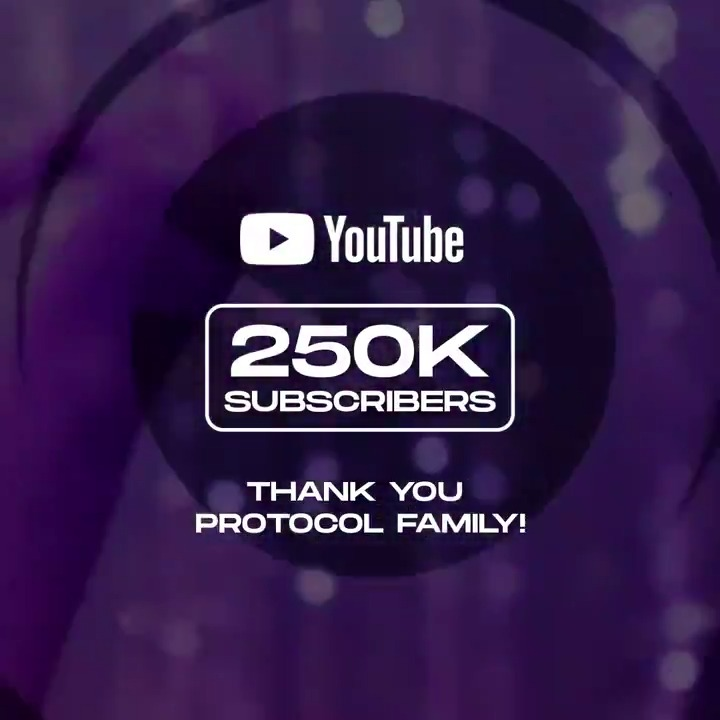We hit 250K subscribers on our YouTube channel! 🎉 Many thanks to the #ProtocolFamily! youtube.com/protocolrecord…