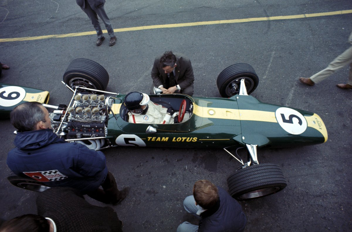 ON THIS DAY...  4 June 1967 Jim Clark won the #F1 #DutchGP at Zandvoort driving a #Lotus 49 Ford @Cosworth DFV on its debut... the most successful and significant race car ever in the history of F1? RT  https://t.co/ndFjl5fD32  @CPZtweets @ClassicLotus @lotuscars @FordPerformance https://t.co/y3Y3miM7jB