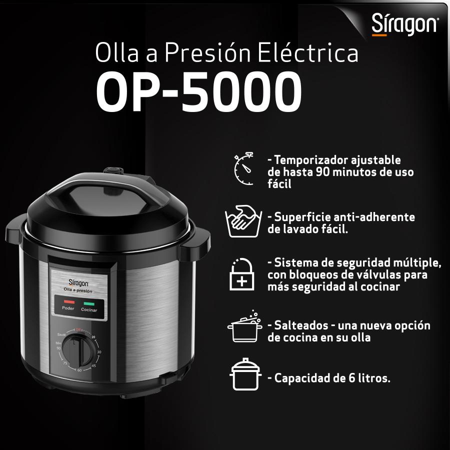Nuestra nueva Olla a presión de 6 litros OP-5000, no suelta ningún residuo en los alimentos, manteniendo sus propiedades naturales. Su diseño limpio y sin esquinas torna la limpieza mucho más fácil. . Encuentrala en @ivoovenezuela . #EstiloDeVidaSiragon #4Jun https://t.co/FCzJZ3bHn6