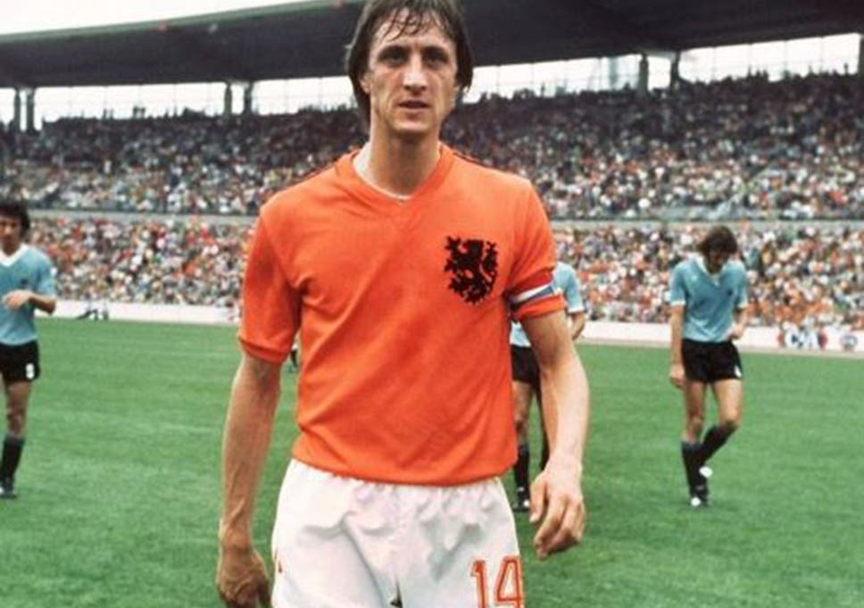 Johan Cruyff played 301 games in his career, scoring 158 goals, and assisting 80.  #Ajax #barca pic.twitter.com/PwC5H3zP8r
