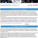 Image for the Tweet beginning: ICAT newsletter out today -