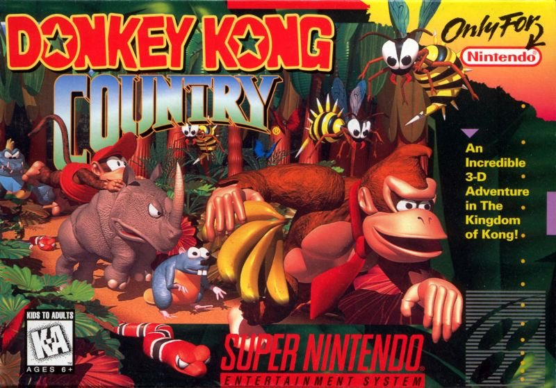 Can we please get a Donky Kong Country SNES trilogy for the Switch? #nintendo #snes #donkeykongcontry #switch @NintendoAmerica @rNintendoSwitch @nintendolife