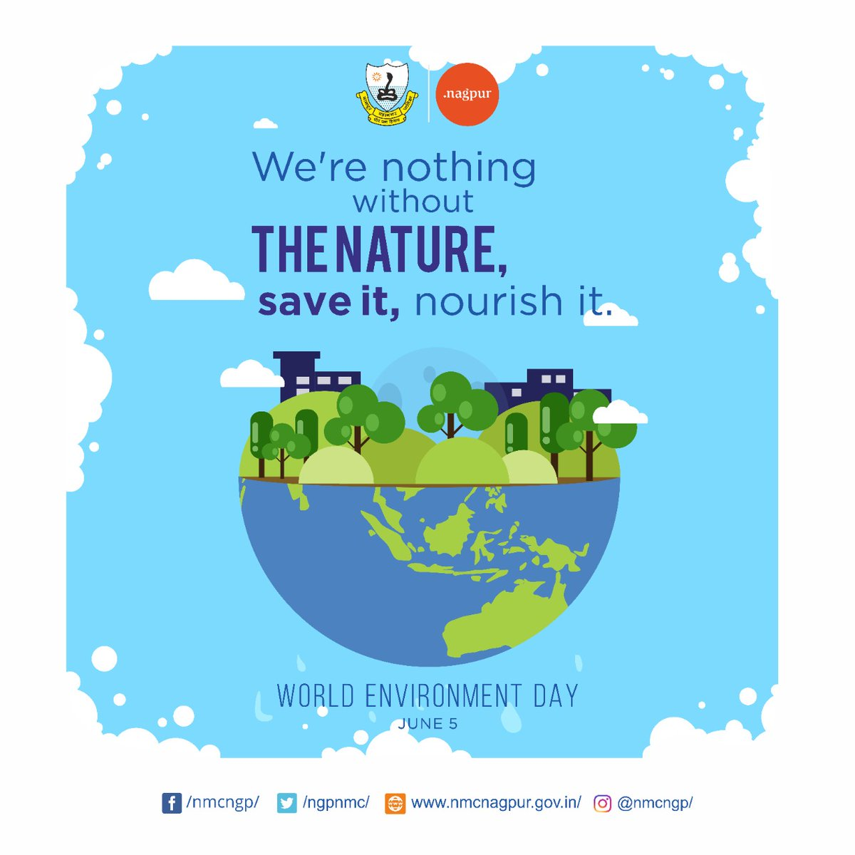 It is our planet that we need to save. This World Environment Day let's pledge to be more kind towards our mother Earth and nature.   #WorldEnvironmentDay2020 #nature #EnvironmentDay https://t.co/Y0DZw9SSKD