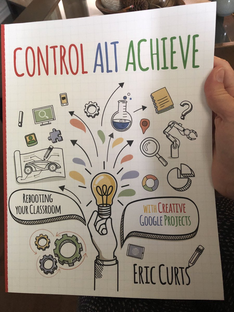 Excited for my new book @ericcurts #ControlAltAchieve lots of great ideas 💡 so far https://t.co/IOeb30DYKK