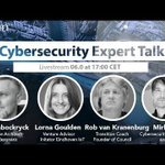 Image for the Tweet beginning: Our Cyber Security Expert talk