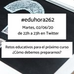 Image for the Tweet beginning: ¿Os perdisteis la #eduhora262?   Podéis