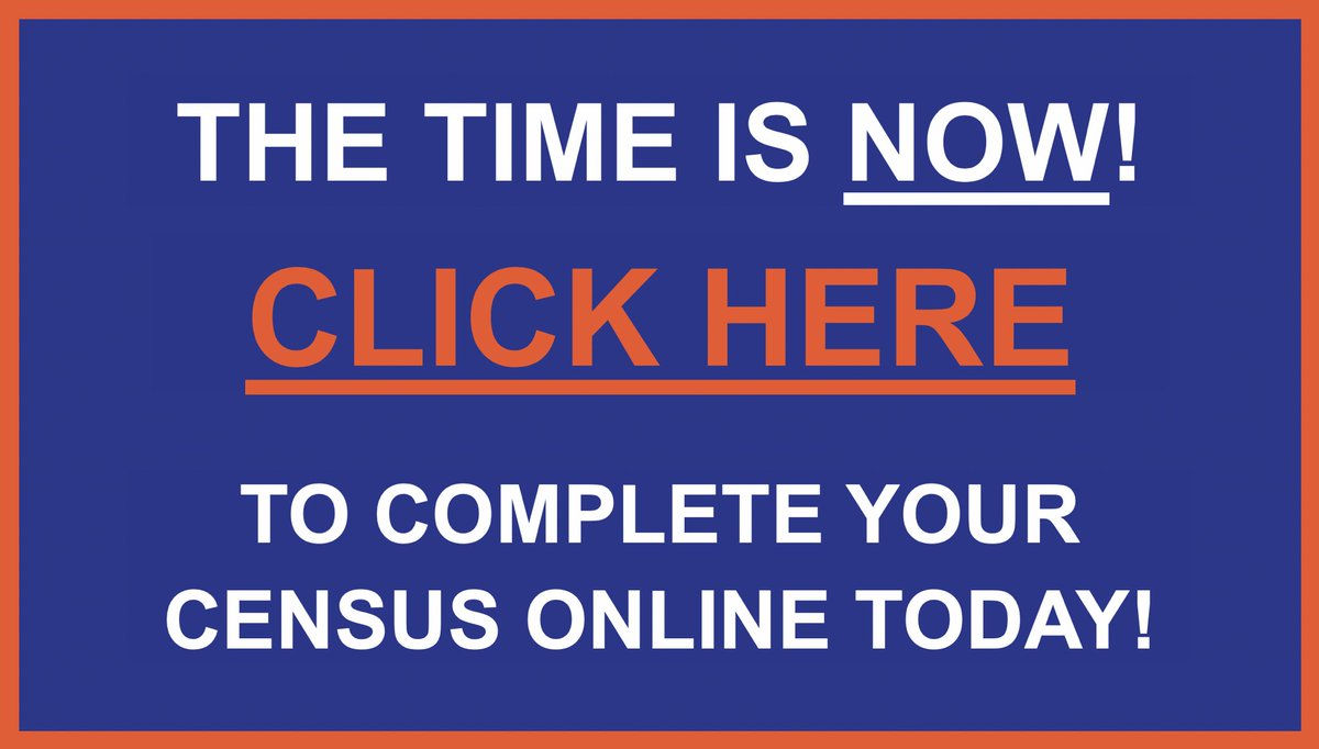 The 2020 Census determines the Funds for NY for the next 10 years! Complete it here: My2020census.gov