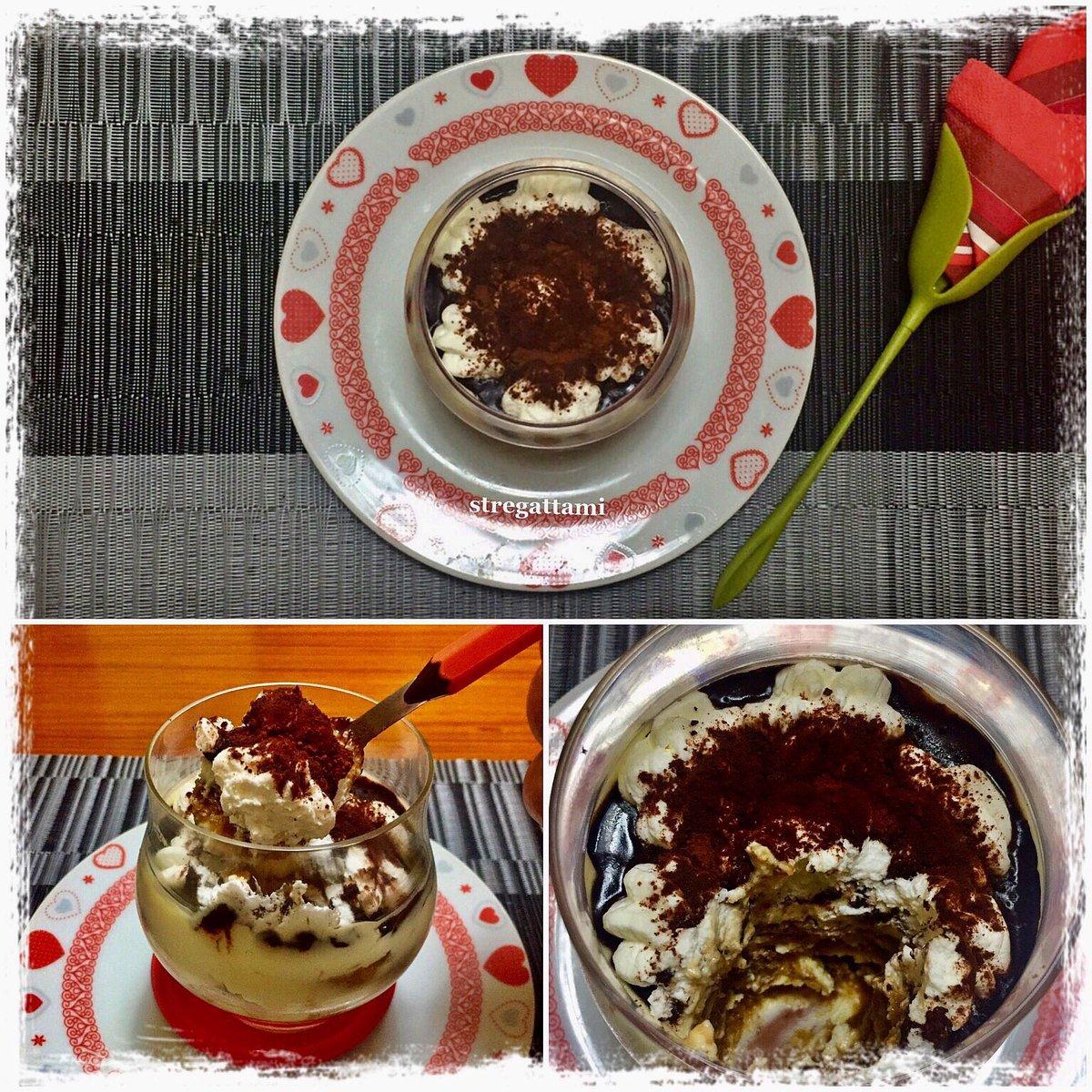 """Oggi nella mia cucina ho preparato il """"Tiramisù"""" versione stregattami#NellaMiaCucina #recipe #madeinhome #cheflife #iorestoacasaecucino #ricette #moodoftheday #andratuttosuifianchi #tiramisù #4giugno #4June #ThursdayMotivation #thursdaymood #Thursday #accadeoggi #dessertpic.twitter.com/0mRbZo7u7H"""