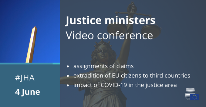 Main results of today´s #JHA on Justice video conference: https://t.co/jFRWPZn924 #Estonia in favor of stronger…