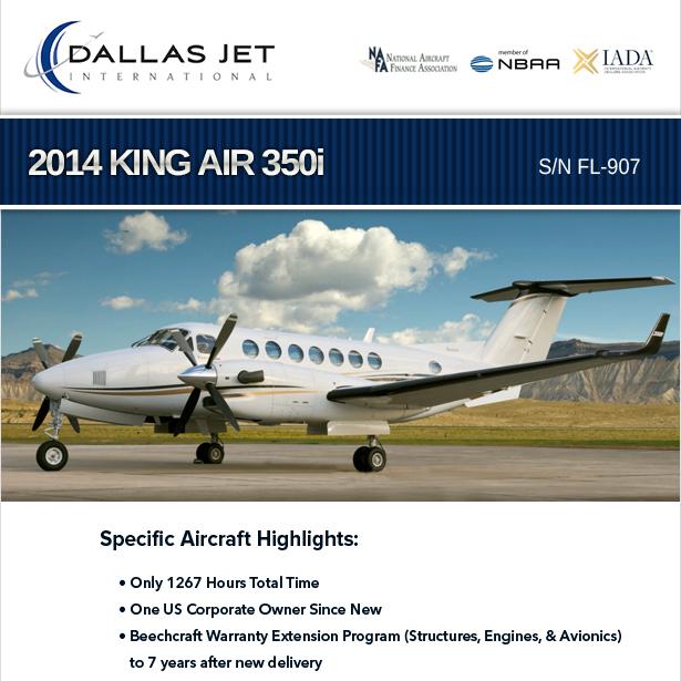 2014 #King #Air #350i available at Dallas Jet International WAAS/LPV ADS-B Out More details at: https://t.co/ImDdfpmhbX  #bizjet #bizav #aircraftforsale #privatejet #privateflying #jetforsale #businessaviation https://t.co/SgtWmxDREv