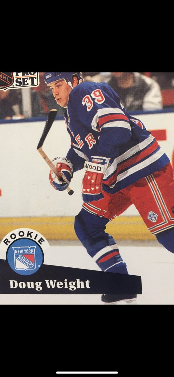 """#59 Now Rangers did """"sell their soul"""" (or youth) a bit, to go for the Cup. Do you remember who we traded Dougie Weight for? #nyrangersfan #nyr #nhl https://t.co/V0lv7G1WPH"""