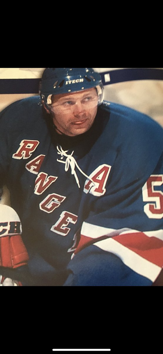 """#57 (Monday)  How in the hell did this guy get an """"A"""" on his jersey?  #nyrangersfan #nyr #rangers https://t.co/Hfihp2CjPC"""