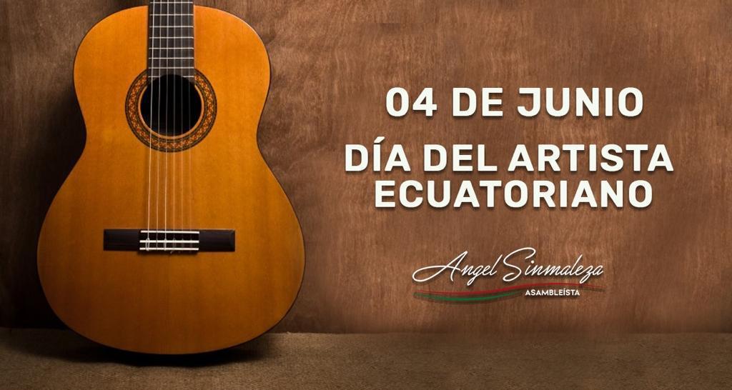 #DíaArtistaEcuatoriano    Saludamos a todos los #ArtistasEcuatorianos que comparten con nosotros el sentir de la humanidad, en cada una de sus obras. #FelizJueves #JuntosPorBolívarpic.twitter.com/00tYUpH1hf