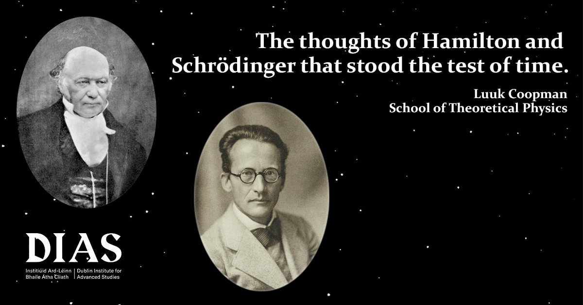 test Twitter Media - Another great crowd for todays Lockdown Lecture. Thanks to all for joining. Details for our next one are below:  Lockdown Lecture 08 June @ 1pm  The thoughts of Hamilton & Schrödinger that stood the test of time.  Register here: https://t.co/nJZUjTrwdO  #DIASdiscovers https://t.co/ijbB4QXdos