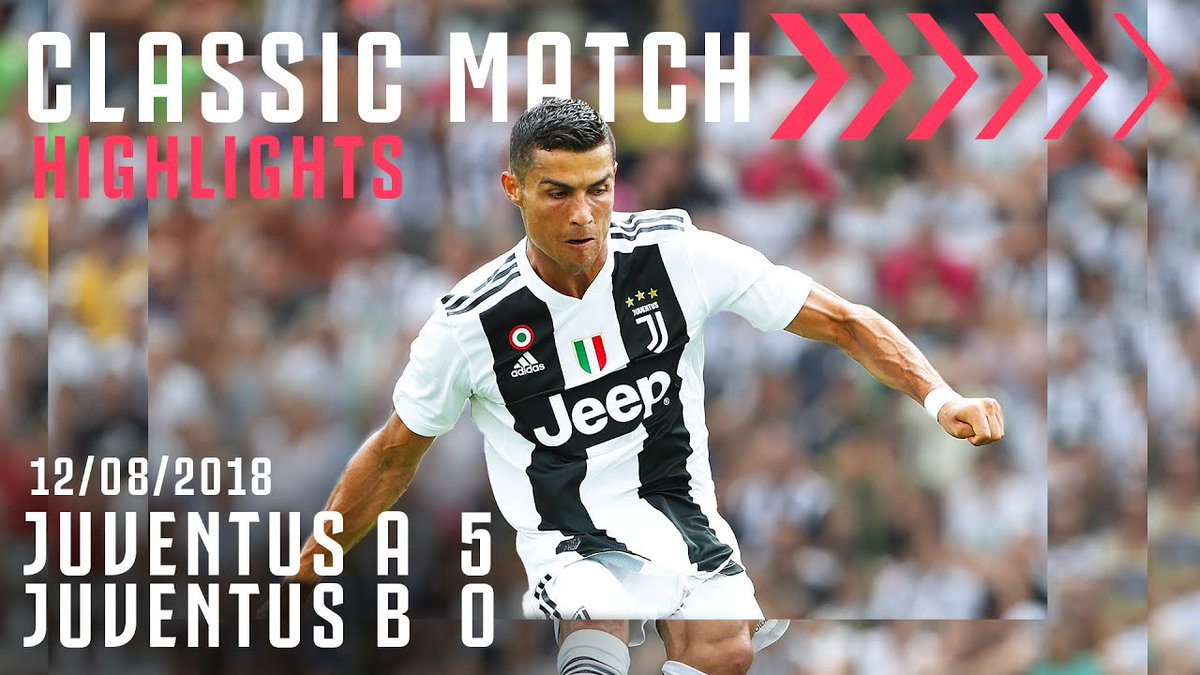 Kali pertama kita melihat  @Cristiano mengenakan jersei Bianconeri! 🔥  Mengenang kiprah CR7 saat melakoni pertandingan pertamanya bersama Juventus!  📺https://t.co/6siBqAjmAx https://t.co/TddDPdeqAe