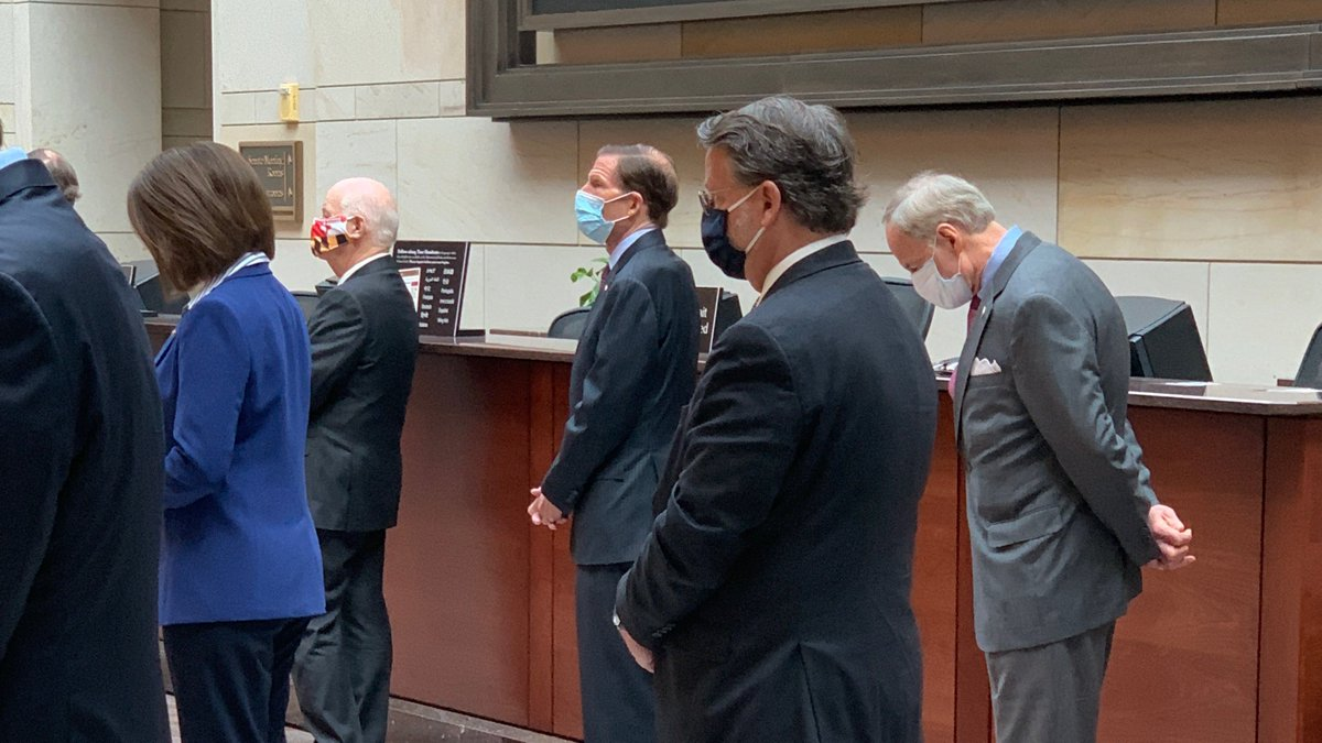 8 minutes, 46 seconds. That's how long George Floyd was restrained with a knee on his neck. I joined my colleagues for 8 minutes & 46 seconds of silence to honor George Floyd—and other African Americans senselessly killed. Our justice system needs fixing. We must work together.
