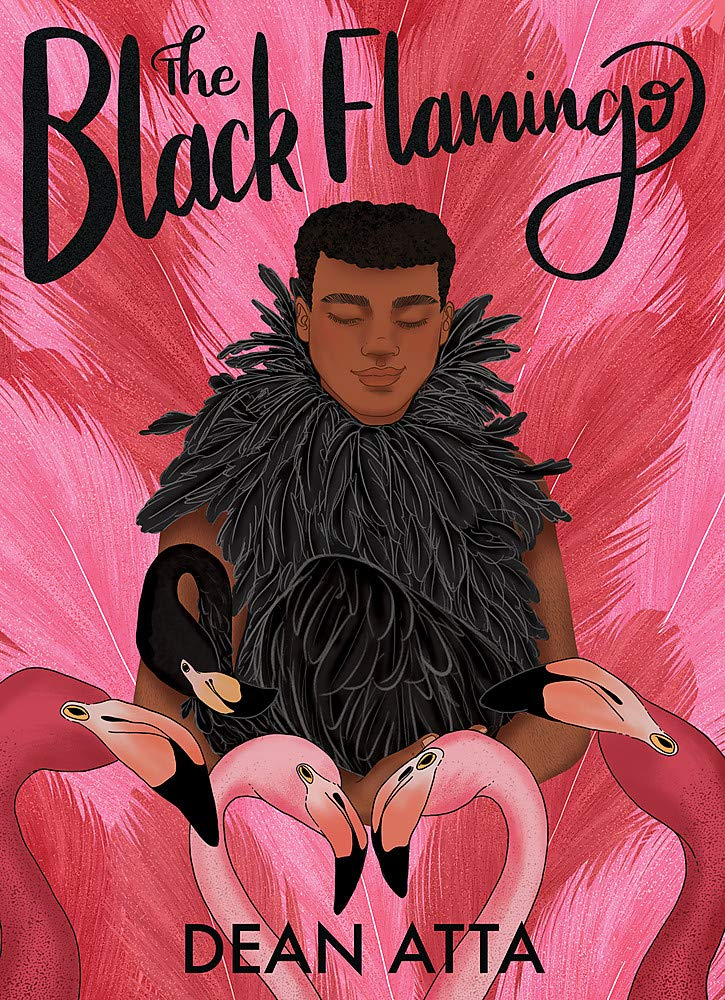 Michael waits in the stage wings, wearing a pink wig, pink fluffy coat and black heels. One more step will see him illuminated by spotlight. He has been on a journey of bravery to get here... Can he emerge as The Black Flamingo?