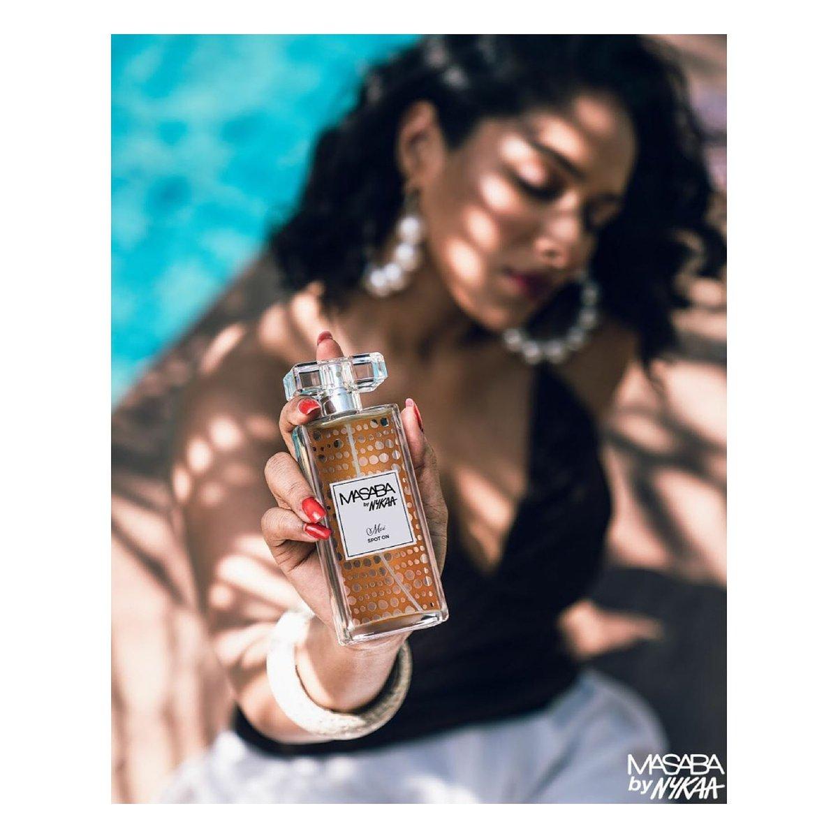 An unforgettable scent 💫 In frame - #MasabaForMoiByNykaa Spot On. Available in 6 variants priced at ₹1800.   #ElevateYourSpirit #MasabaByNykaa #NewLaunch #NykaaFragrances #Masaba @houseofmasaba @MyNykaa https://t.co/mD5D7q05HU