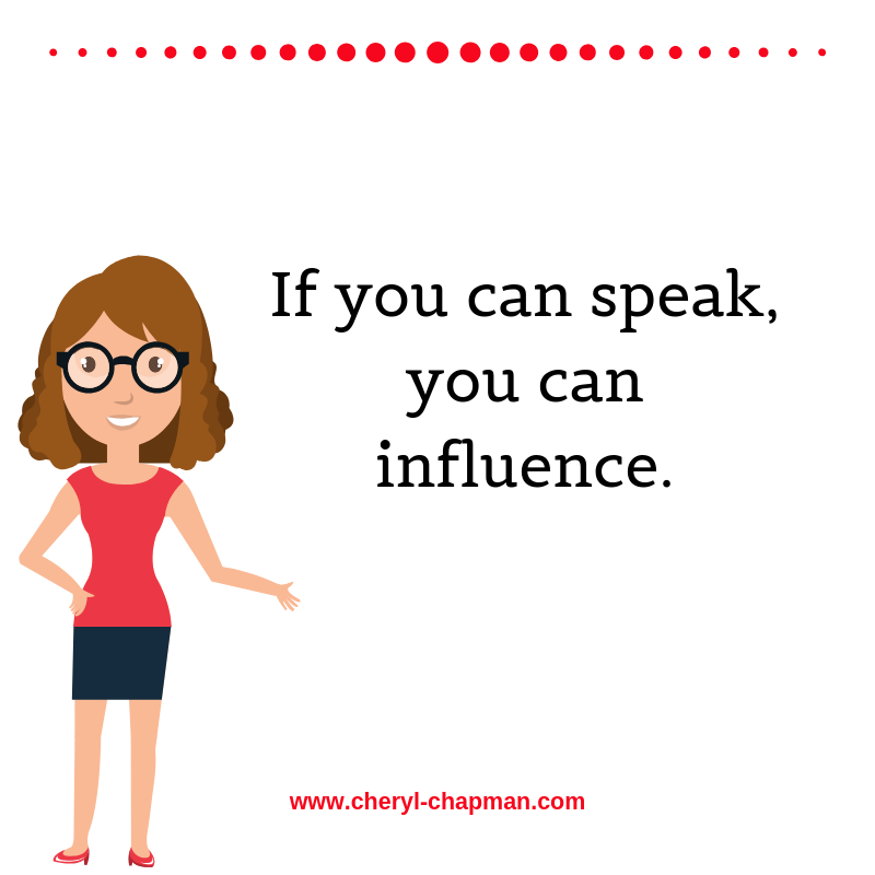 If you can speak, you can influence. If you can influence, you can change lives.  How would you influence an #audience?   #Publicspeaking pic.twitter.com/kTpve0iskp
