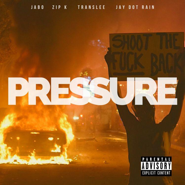 #NowTrending📈 @jaboent_, Zip K, @translee, & @JayDotRain - 'Pressure' Listen here: amack.it/jztjprs