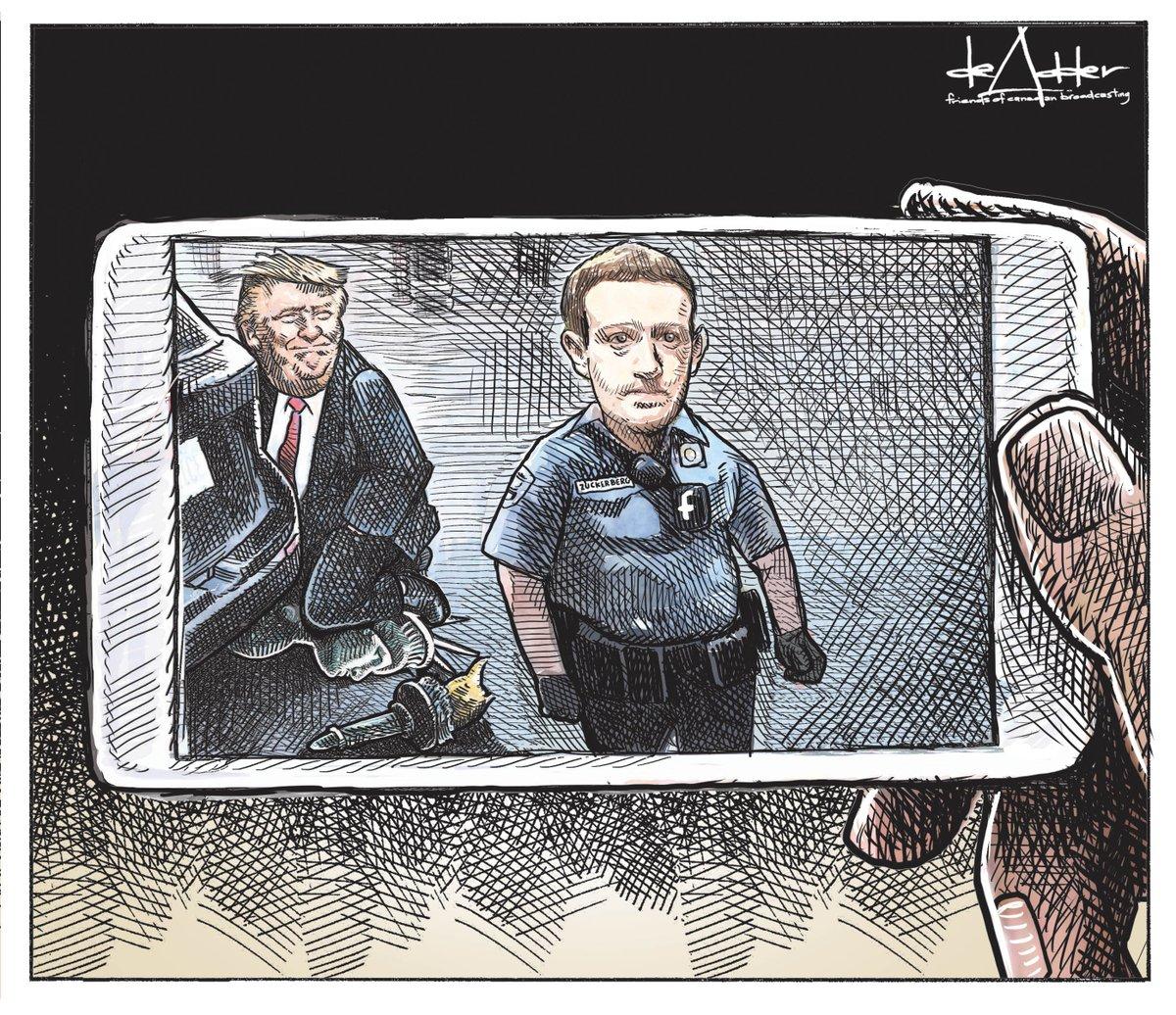 Cartoon for @friendscb @AMISRadiodiff #MarkZuckerberg #Facebook #FacebookIsOverParty