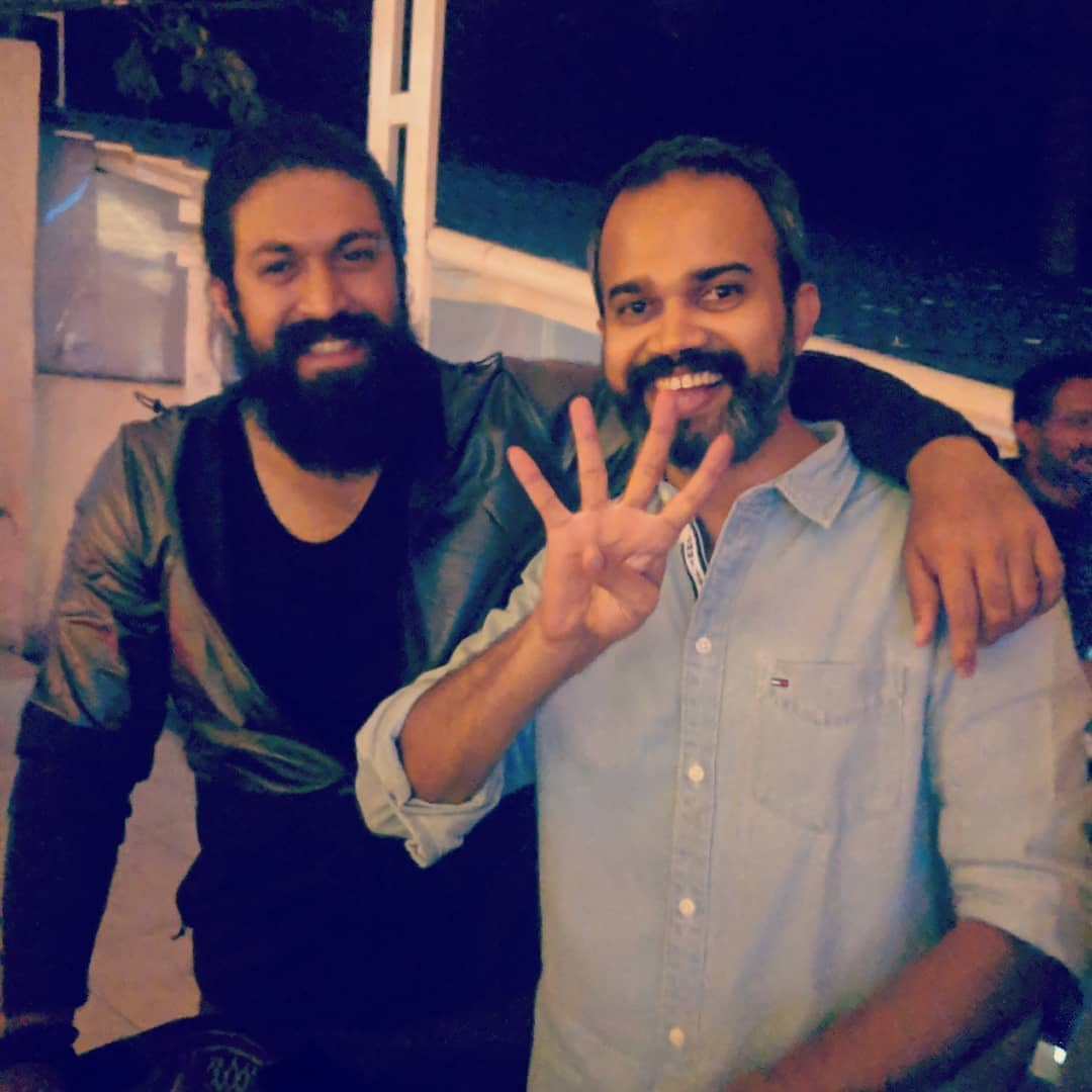 Happy Birthday To Best Director in the World @prashanth_neel Bro  Long Live  Stay Happy  Madly Waiting For #KGFChapter2 & @tarak9999 Anna Movie With urss...  #KGF2 #KGF2 #RRRMovie #KomaramBheemNTRpic.twitter.com/1D3jYTuosd