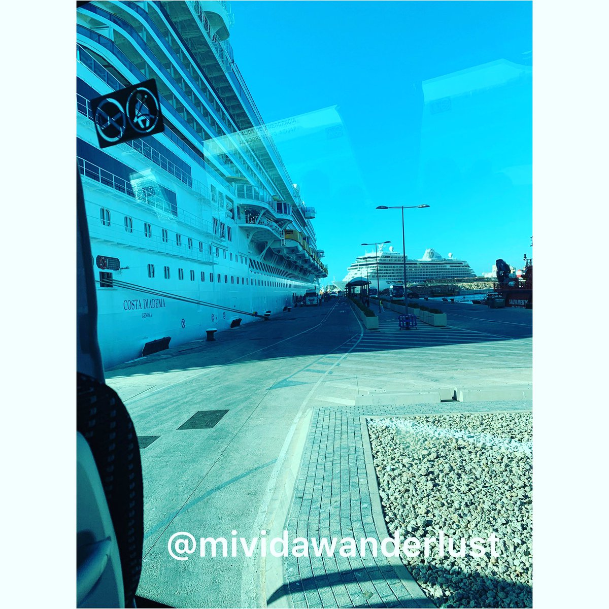 Costa Diadema docked in Palma de Mallorca #puertodepalma #Mallorca #palma #ship #cruceros #costadiadema #wanderlust #costacruceros #theholidaywemiss https://t.co/ixvWtyRHiK