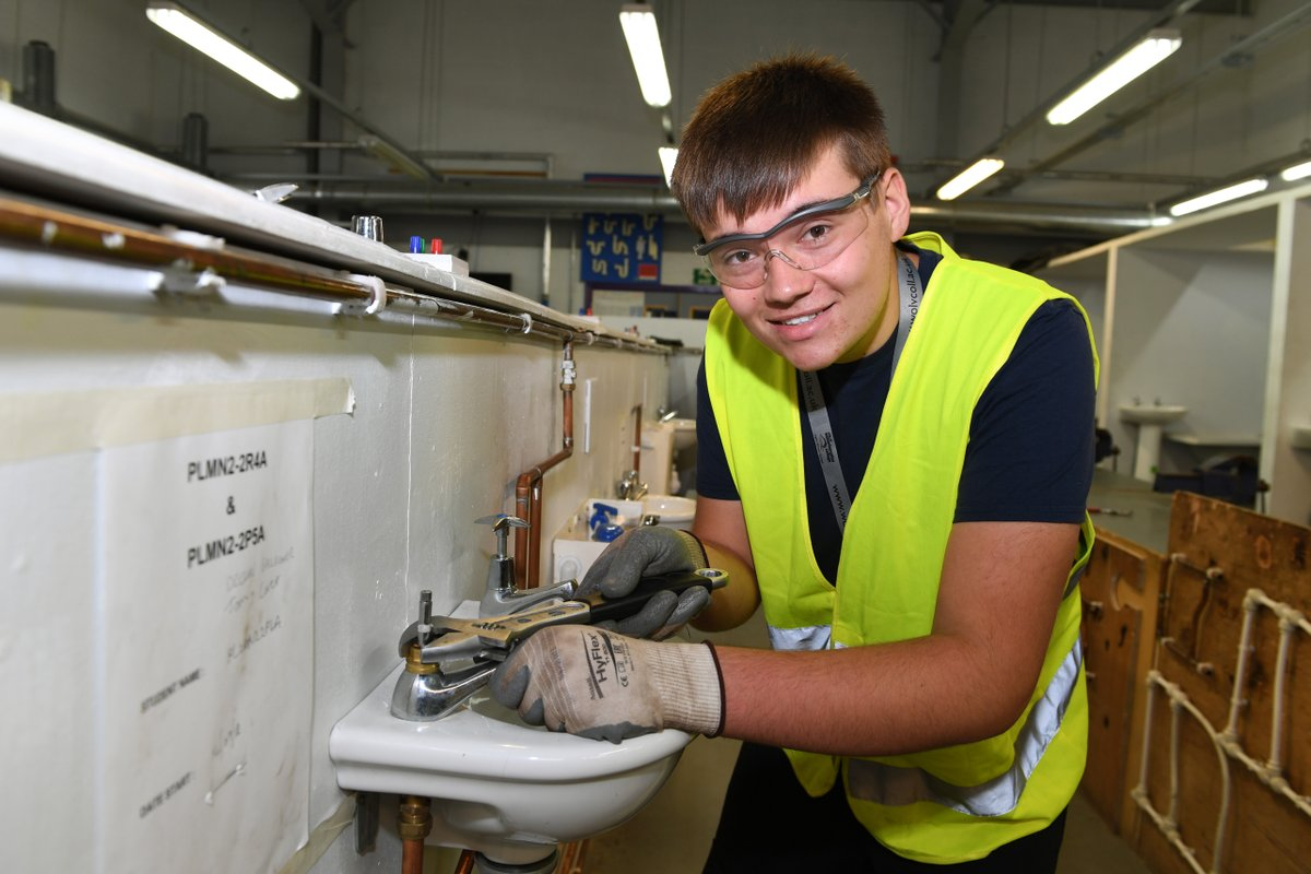 Every household or business needs to call on a plumber for help to install or repair the maze of pipework, tubing and fixtures that deliver drinking water and provides heating. #DoMore with your future and study a Plumbing qualification at WolvColl. 👉  👈
